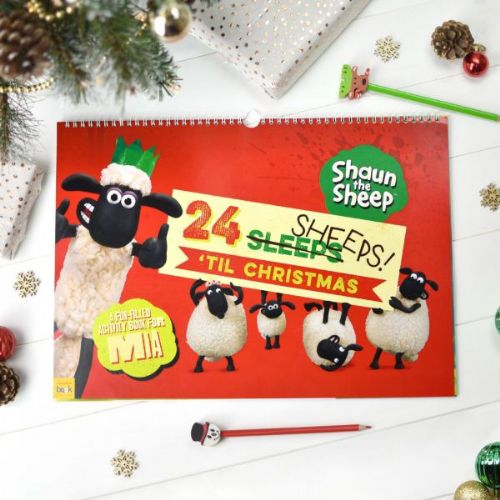 Shaun the Sheep '24 Sheeps' Activity Advent Calendar